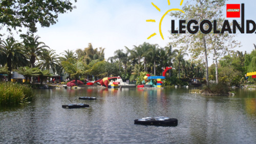 OxyIslands at LEGOLAND before planting